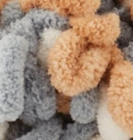 Пряжа Puffy Color Alize 6395