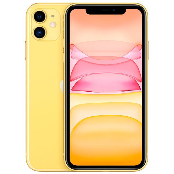 iPhone 11, 256 ГБ, желтый