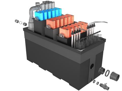 Проточный фильтр с насосом для пруда Pondtech Bio Filter 160 (250 м3)