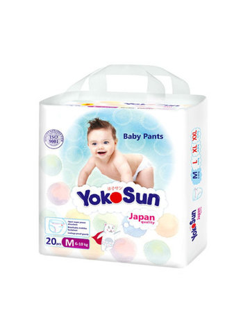 Трусики Yokosun, 6-10 кг (M) мини упаковка