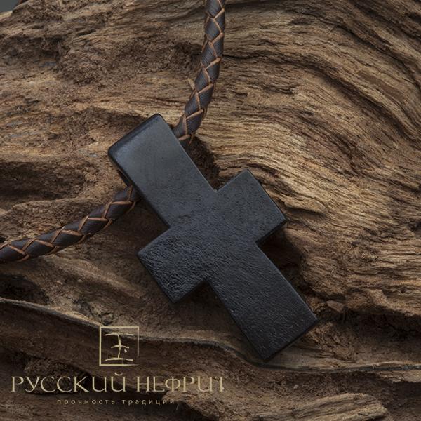 Авторское Крест из чёрного нефрита Krest_nefrit1.jpg