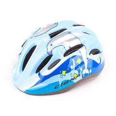 Велошлем детский Cigna WT-024 (чёрный/голубой)