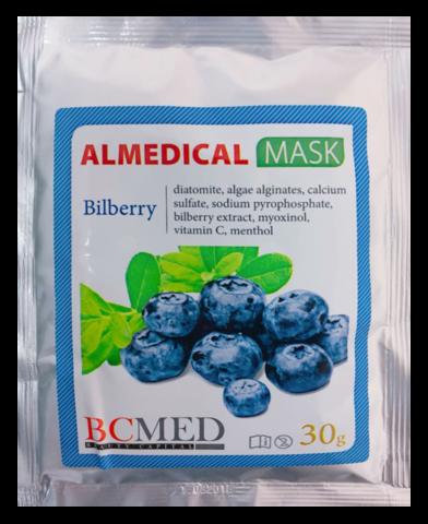 *Альгинатная маска (BCMED/Черника/30гр)