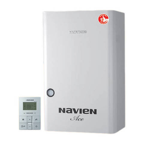 Котел газовый настенный Navien Atmo Ace - 16 кВт (двухконтурный, открытая камера)
