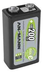 Аккумулятор Крона Е/NiMH ANSMANN maxE 8.4V 200mAh