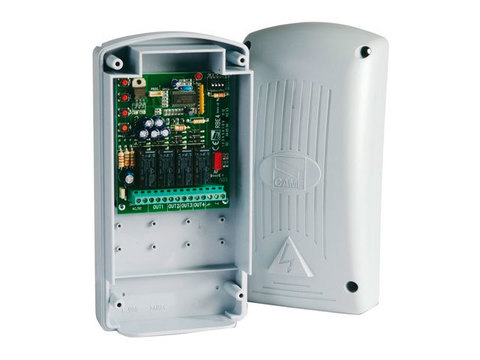 RBE4N - Радиодекодер внешний двухчастотный 4-х канальный (12-24 В AC/DC) Came