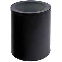 Корзина для мусора Титан 16 л металл черная (25х33 см)