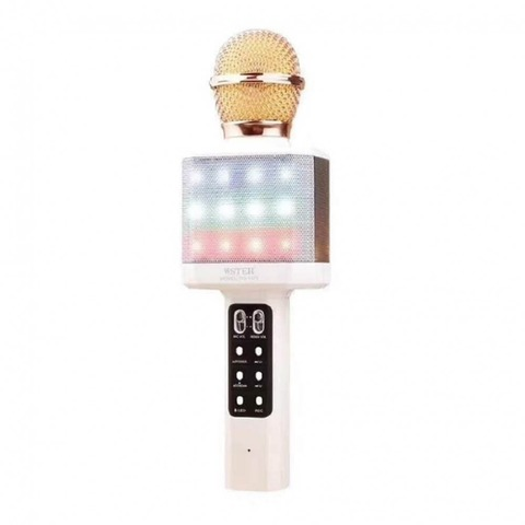 Беспроводной караоке-микрофон WSTER WS-1828, белый