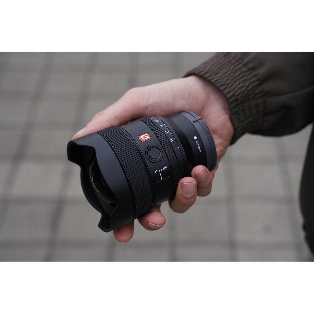 Компактный и лёгкий объектив Sony SEL-14F18GM серии G Master