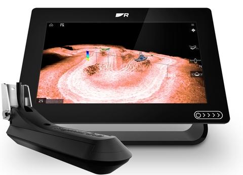 AXIOM+ 9RV Многофункциональный дисплей  со встроенным RealVision 3D, сонар 600 Вт с датчиком RV-100