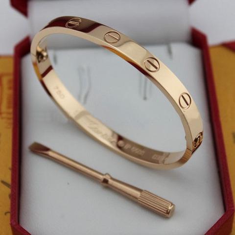 Браслет Cartier Love Rose Gold
