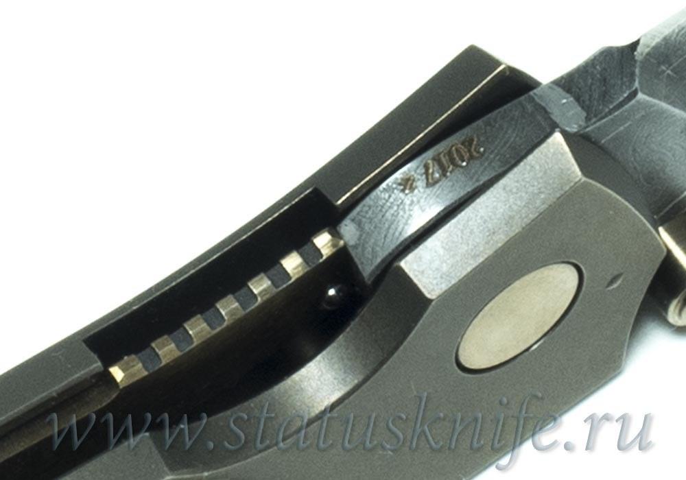 Нож Чебуркова Стриж малый Custom дамаск и коралл - фотография