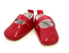 Обувь для кукол - туфли лакированные, 7,8 см по подошве, 1 пара.