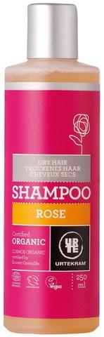 Urtekram Шампунь для сухих волос Роза, 250 мл