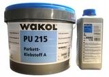 WAKOL PU 215 (12+1,12 кг) двухкомпонентный полиуретановый паркетный клей (Германия)
