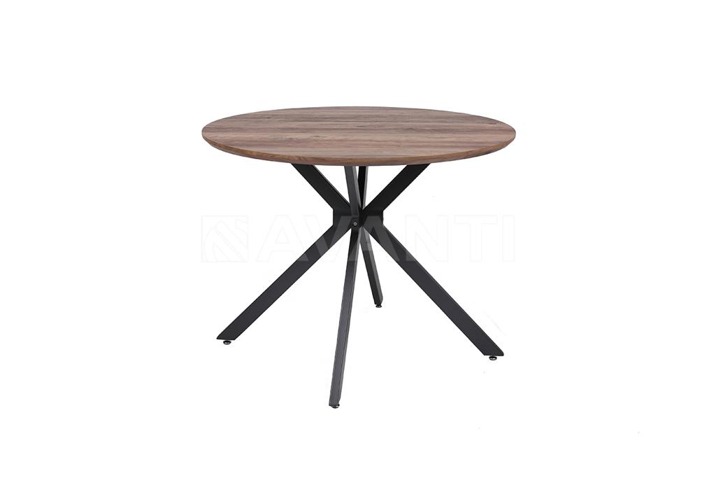 Стол VEGA (D1000x750) AMBER (амбер)