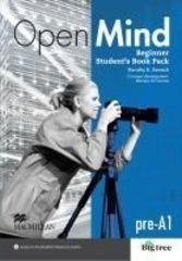 Open Mind British English Beginner Student's Book Pack Standard