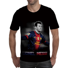 Футболка 3D принт, Лионель Месси (3Д Messi) 05