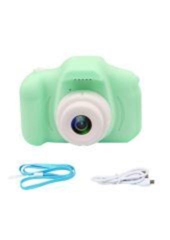 Детский цифровой фотоаппарат зеленый