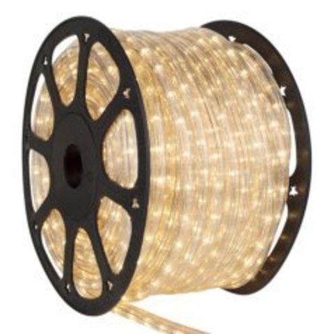 Дюралайт гирлянда светодиодная LED 2wrl Delux теплобедый