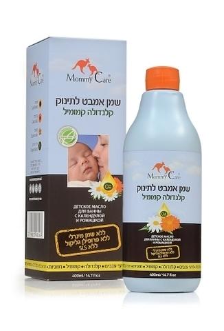 Baby Bath Oil Масло для ванны с календулой и ромашкой 200 мл. (стандарт)