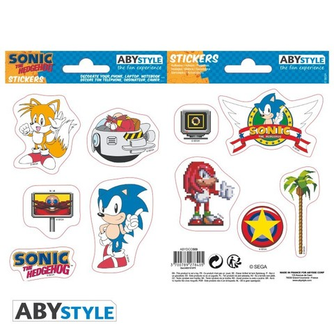Наклейки ABYstyle: SONIC:  Sonic Retro ABYDCO509