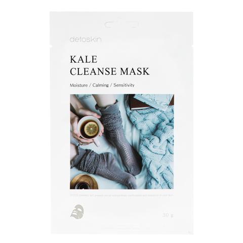 Очищающая маска с кейлом