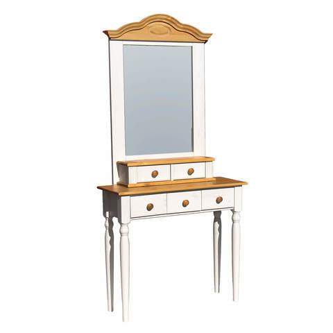 Зеркало с туалетным столиком Синди