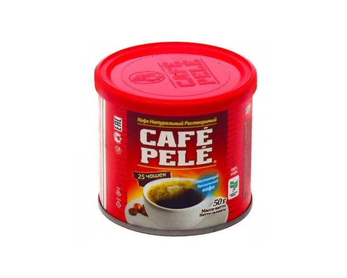купить Кофе растворимый Cafe Pele, 50 г жестяная банка