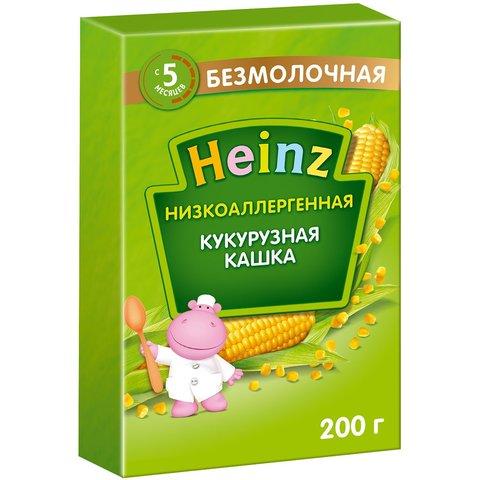 Каша Heinz кукурузная низкоаллергенная 5+ мес