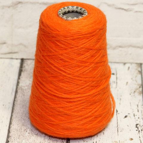 Смесовка с альпакой NEW MILL / BELLO TINTO 300 оранжевый