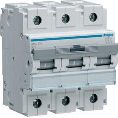 Автоматический выключатель 3P 50kA C-16A 4.5M