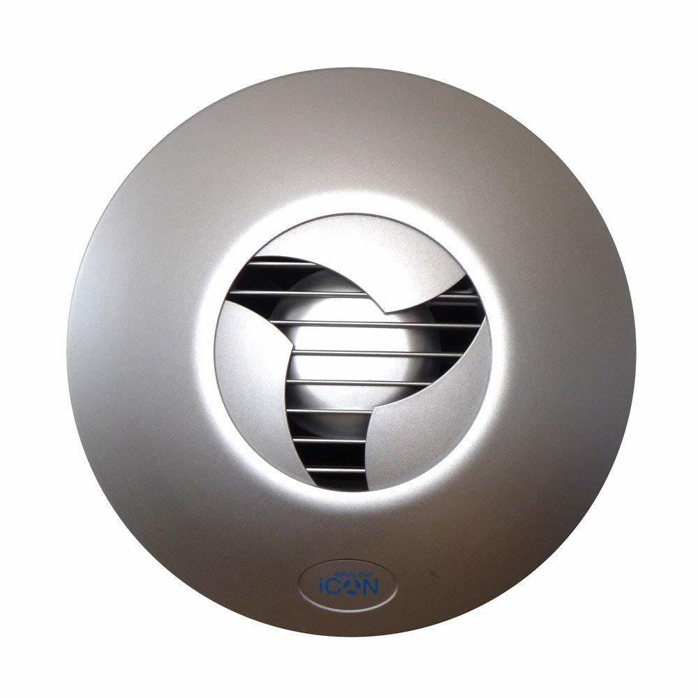 Airflow (Великобритания) Лицевая панель для вентилятора Airflow iCON 15 цвета Серебро 014.jpg