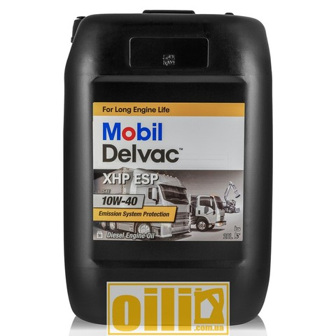 Mobil DELVAC XHP ESP 10W-40 20л