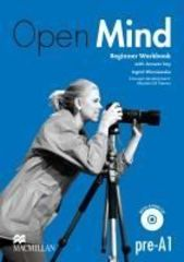 Open Mind British English Beginner Workbook with key and CD Pack