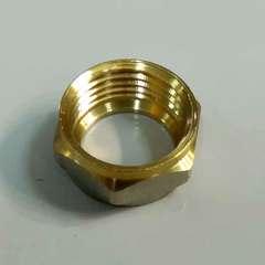Муфта обжимная для металлопластиковых труб 16*1/2 наружная  резьба Valve
