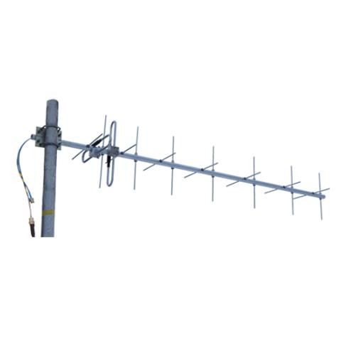 Базовая направленная кроссполяризационная УКВ антенна Radial YX8-70cm