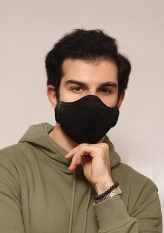 Маска тканевая лицевая защитная многоразовая