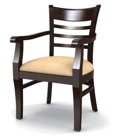 кресло для ресторана из массива бука
