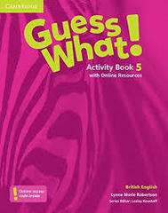 Guess What! Level 5 Activity Book with Online R...