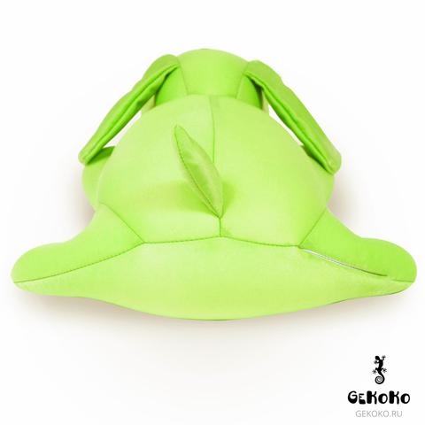 Подушка-игрушка антистресс Gekoko «Патрик Зеленый» 5