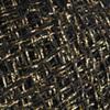 Пряжа YarnArt Camellia 413 (Черный с золотом)