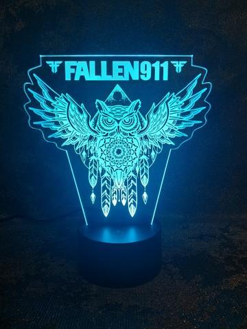 3Д-светильник Сова