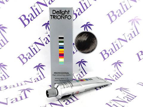 TRIONFO 1-0 стойкая крем-краска для волос Черный, 60 мл