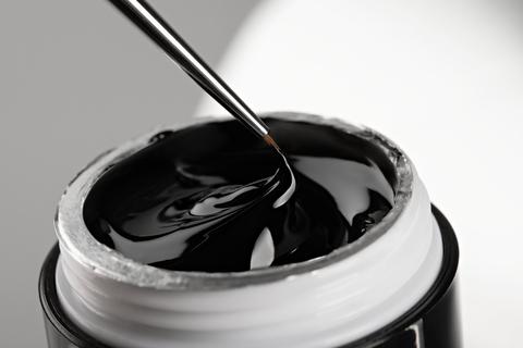 Monami гель-краска BLACK №2, 8 мл. (ТУБА без липкого слоя)