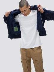 Куртка Alpha Industries B-15 Rep. Blue (Синяя)