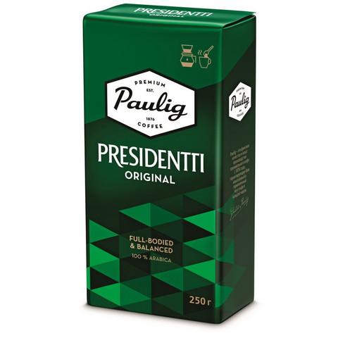 Кофе молотый Paulig Presidentti Original 250 г (вакуумная упаковка)