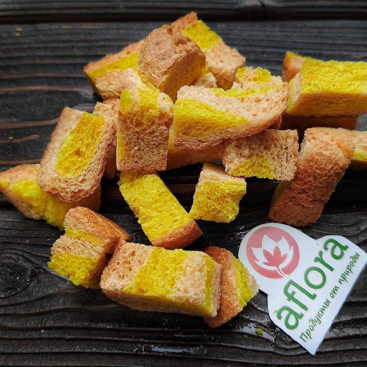 Фотография Сухари пшеничные Полосатик / 100 г купить в магазине Афлора