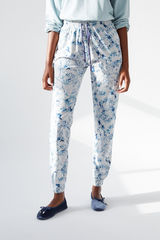 Длинные серые брюки из хлопка, созданные совместно с Coordonné