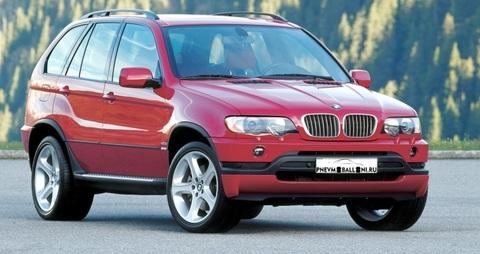 BMW X5 E53 2000-2006 Ремонт Передней Пневмоподвески